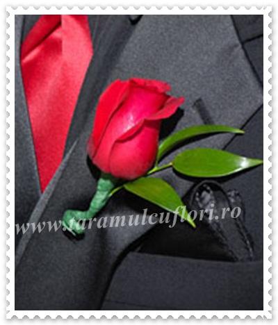 Cocarde nunta din trandafiri.44